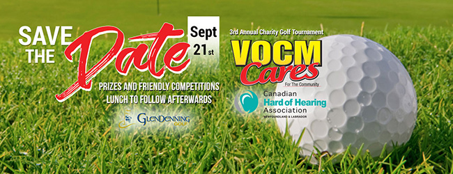 2017 Charity Golf Tournament - VOCM Cares Foundation