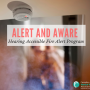 NEW! Alert & Aware. Hearing Accessible Fire Alert Funding