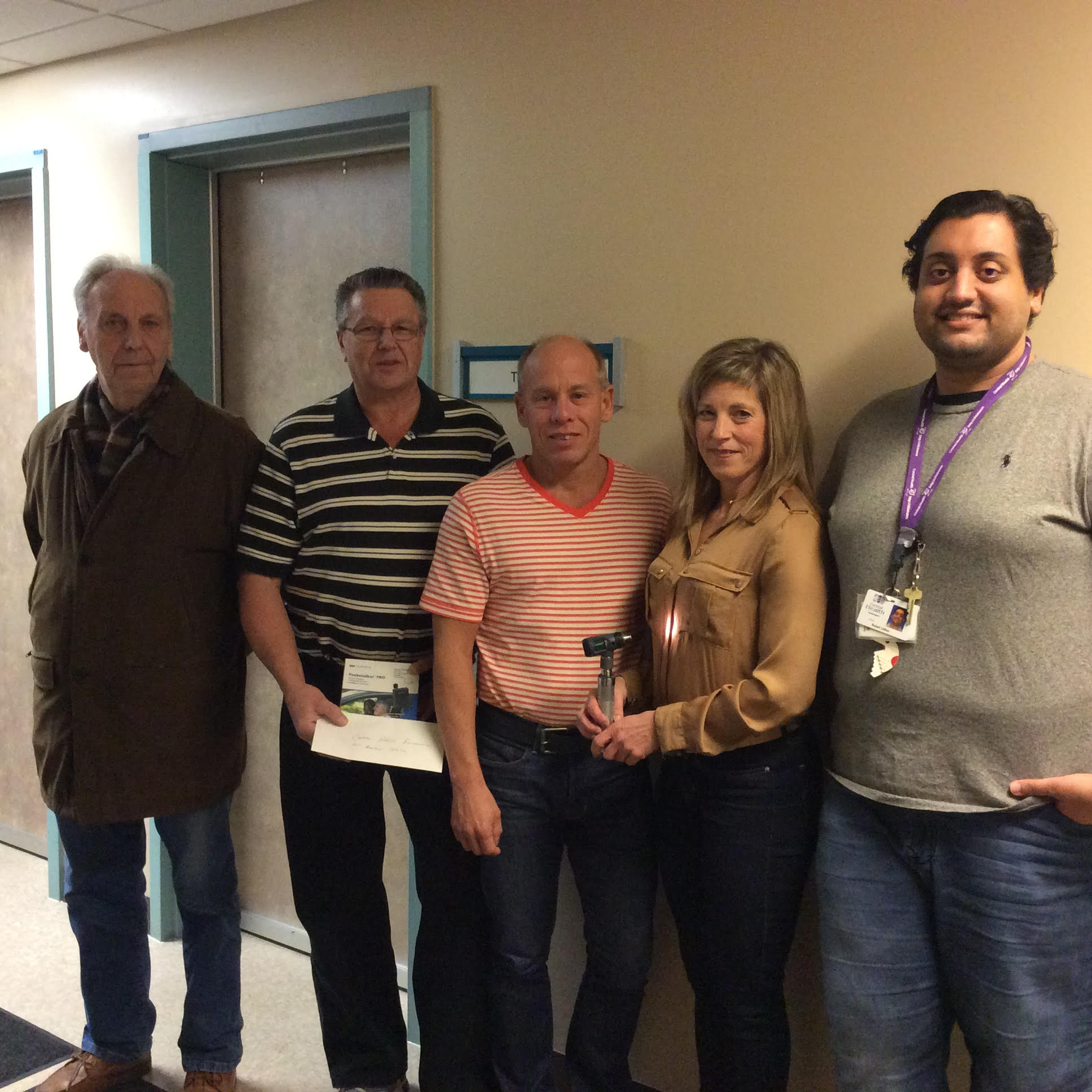 Gander Branch Donates Technology to James Paton Memorial Hospital