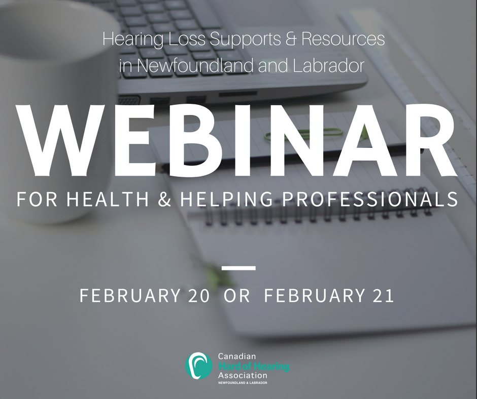 Webinar: For Health & Helping Professionals (February 20 or 21)