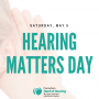 May 5: Learn Something New – Attend Hearing Matters Day 2018