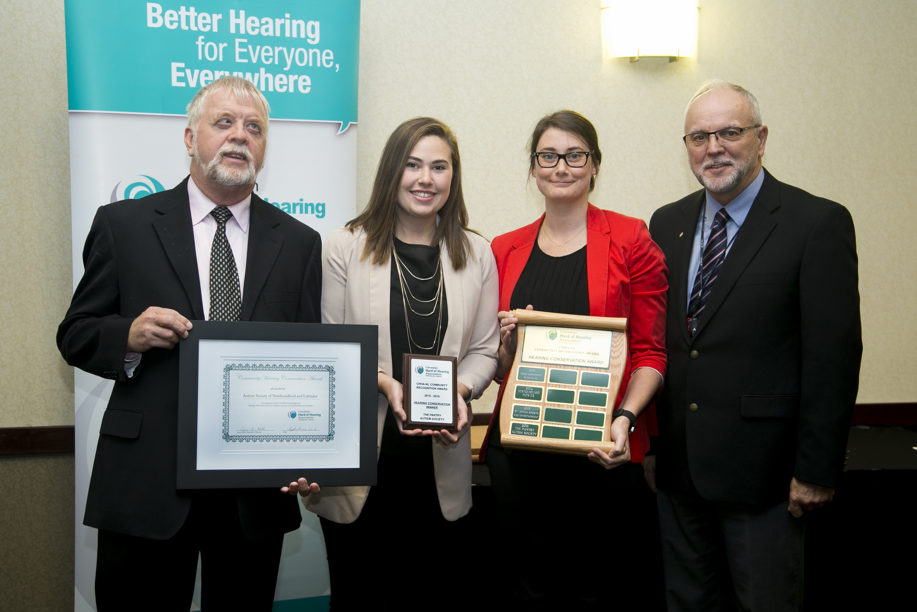2016 CHHA-NL Hearing Conservation Award