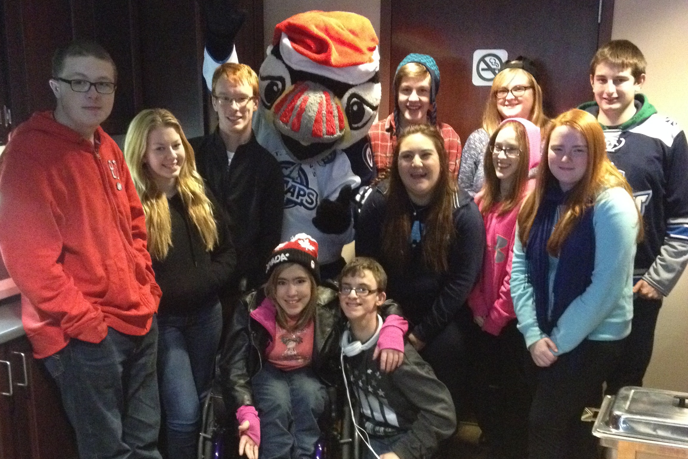 The Telegram hosts CHHA-NL Youth for IceCaps Game