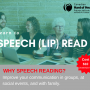 Learn To Speech (Lip) Read – Spring 2019