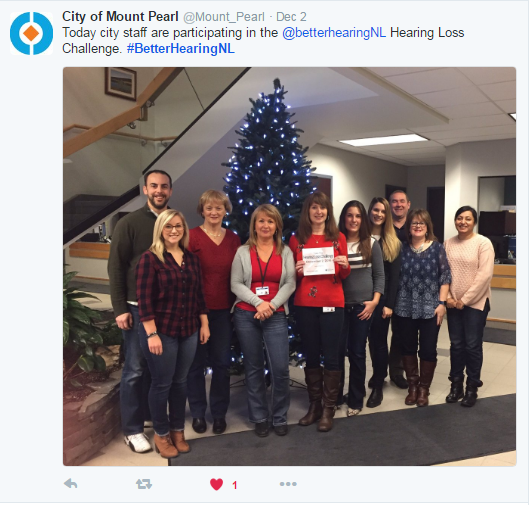 City of Mount Pearl - Hearing Loss Challenge: Your Stories