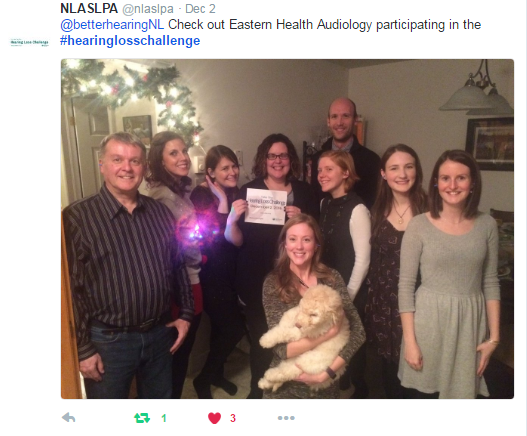 NLASLPA Hearing Loss Challenge: Your Stories