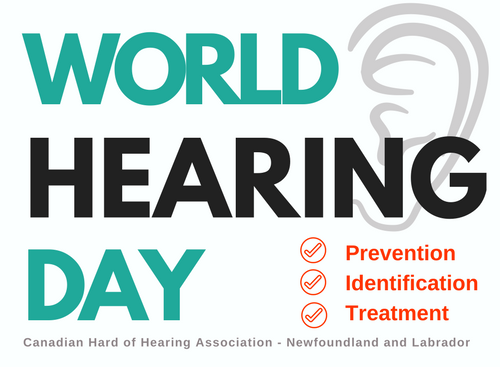 World Hearing Day Newfoundland and Labrador